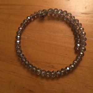 Kay Jewelers Jewelry - NWOT Kay's memories blue bracelet sterling silver