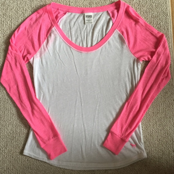 Pink Victoria 39 S Secret Vs Pink Baseball Tee From Taylor