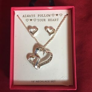 Always follow your heart infinity necklace 2 of 3
