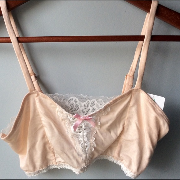 b82b364adfd93 Honeydew Intimates Bralette Seashell Pink Med. NWT