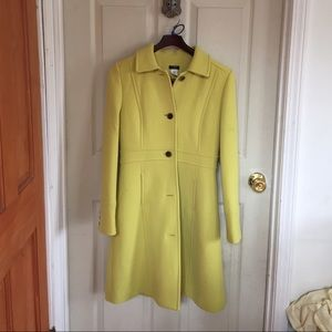 J. Crew Double Cloth Lady Day Coat with Thinsulate