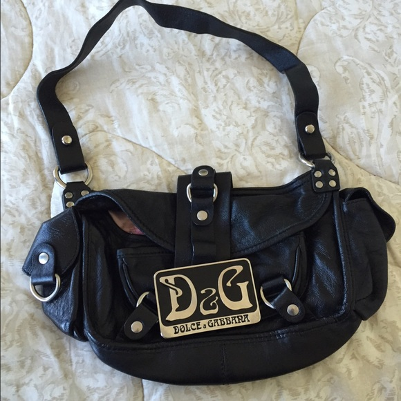 Dolce   Gabbana Handbags - LOWEST Auth vintage Dolce Gabbana shoulder bag 39ddeb2a8bf5c