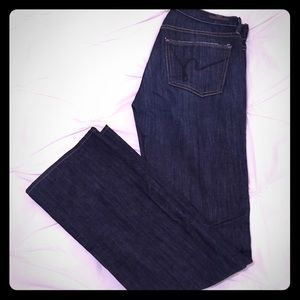 Women's size 26 citizens of humanity bootcut jeans