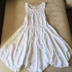 White Free People dress