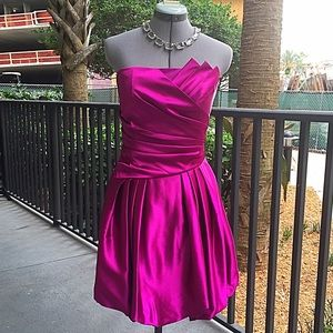 Jessica McClintock Dresses & Skirts - Gorgeous Jessica McClintock Fuchsia Formal Dress
