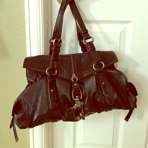 Francesco Biasia Handbags - Francesco Biasia black purse
