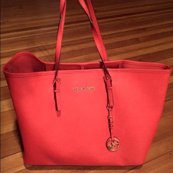 michael kors red