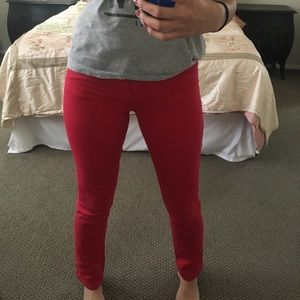 Cotton On Jeans - Red skinny jeans