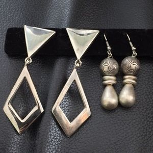 Accessories - Drop earrings. 2 pairs for $9