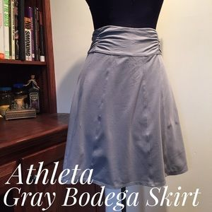Athleta Dresses & Skirts - Athleta Gray Bodega Skirt