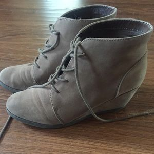 Madden Girl Shoes - Madden wedge booties