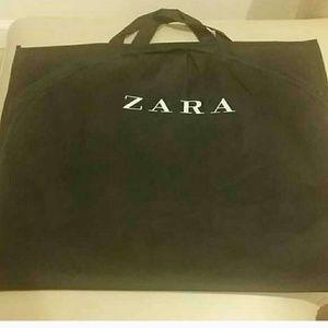 Black Zara garment bag