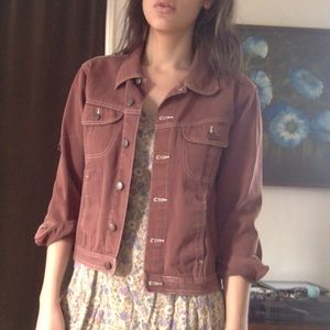 Vintage Brown Denim Jacket