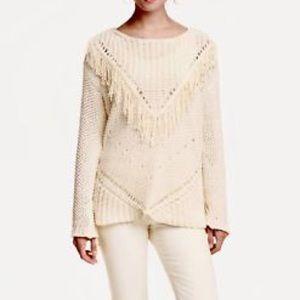 H&M fringe sweater