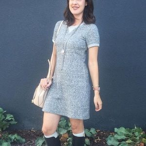 Theory Dresses & Skirts - Theory Gray Sweatshirt / Sweater Dress