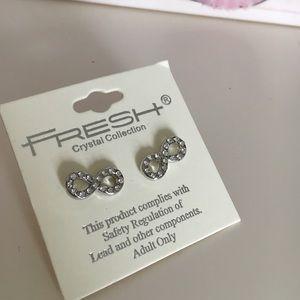 New infinity earrings