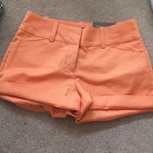 Sherbet orange Ann Taylor shorts