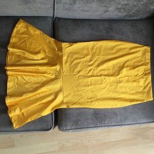 Marigold Trumpet Skirt