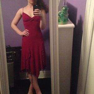 My Michelle Dresses & Skirts - My Michelle cranberry dress - Barely worn!