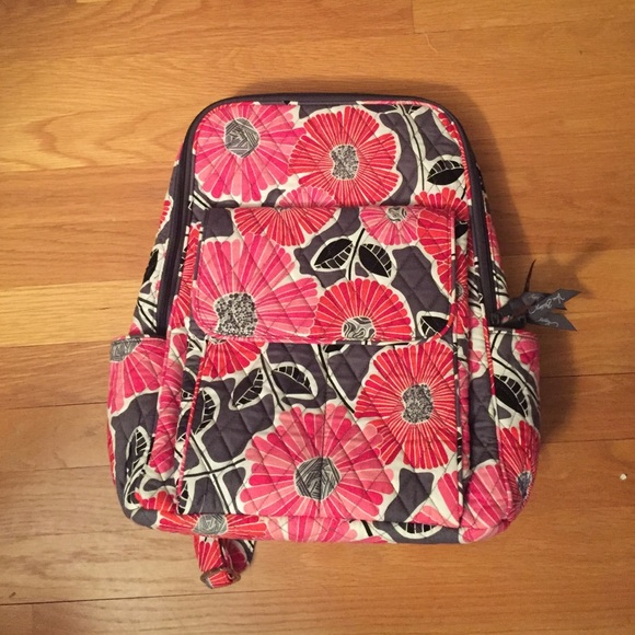 9282ab1ff9 Vera Bradley cheery blossom retired print backpack.  M 56e5f3c3bcd4a796aa047705