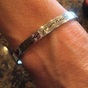 """Follow Your Heart"" Bracelet"