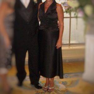 Tadashi Shoji Dresses & Skirts - Tadashi Shoji Black Collar Semi-Formal Dress