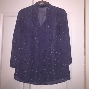 Banana Republic blouse with Ruffles