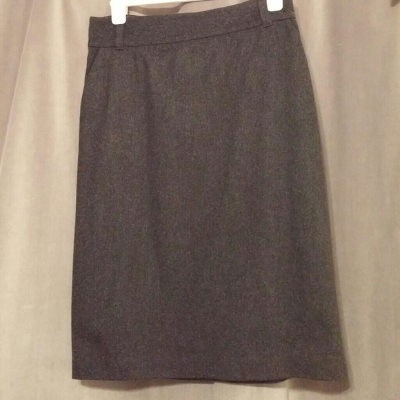 78% off Banana Republic Dresses & Skirts - Dark Gray Pencil Skirt ...