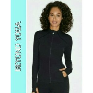 BEYOND YOGA Jackets & Blazers - ★BEYOND YOGA  POWDER BLUE JACKET