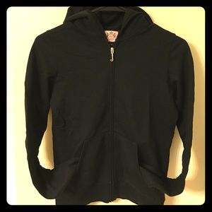 Juicy Couture zip-up hoodie. Size S. Like new.