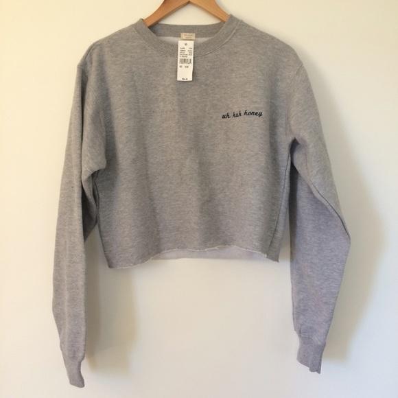 Brandy Melville Sweaters Uh Huh Honey Sweater 2 Poshmark