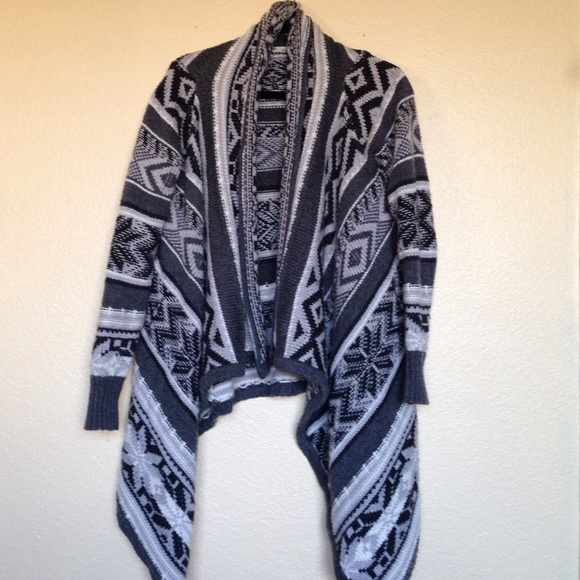 71% off Old Navy Sweaters - Old Navy Aztec Shawl Sweater from ...