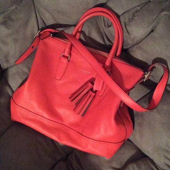 6c48920360 Coach Handbags - . COACH RORY SATCHEL BAG WITH TASSELS .