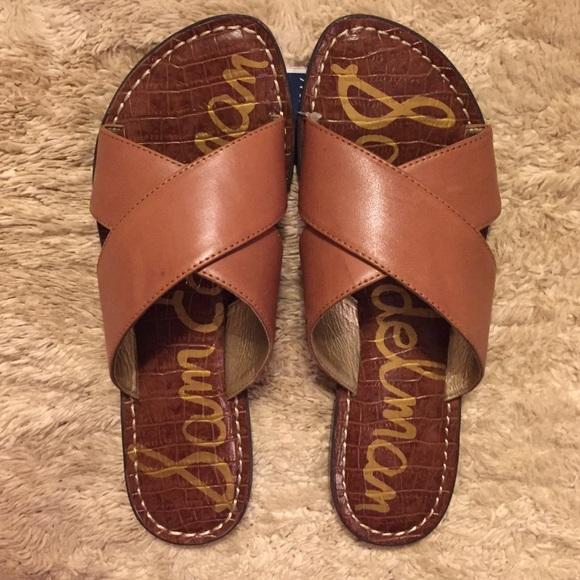 17ba7248a1a6 Sam Edelman Leather Sandals.