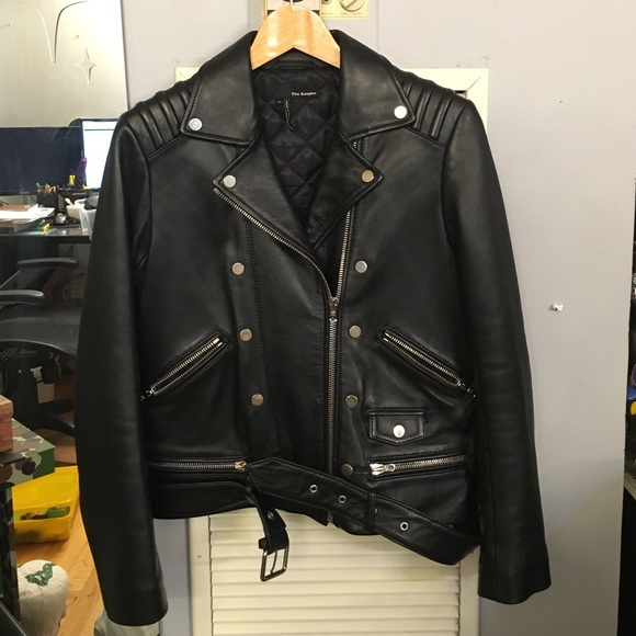d1299b12497 The Kooples Jackets & Coats | Leather Jacket Size 40 Black | Poshmark