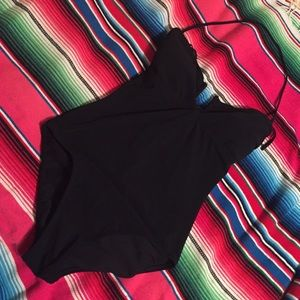 Black one peice bikini