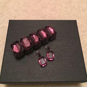 Jewelry - Earrings and bracelet set
