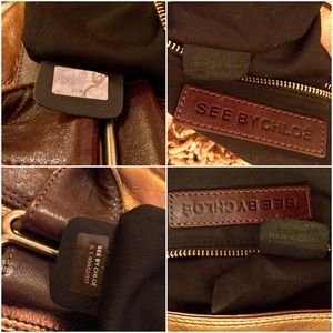 how to tell a fake chloe bag - 71% off See by Chloe Handbags - ??% real?SEE?BY CHOLE METALLIC ...