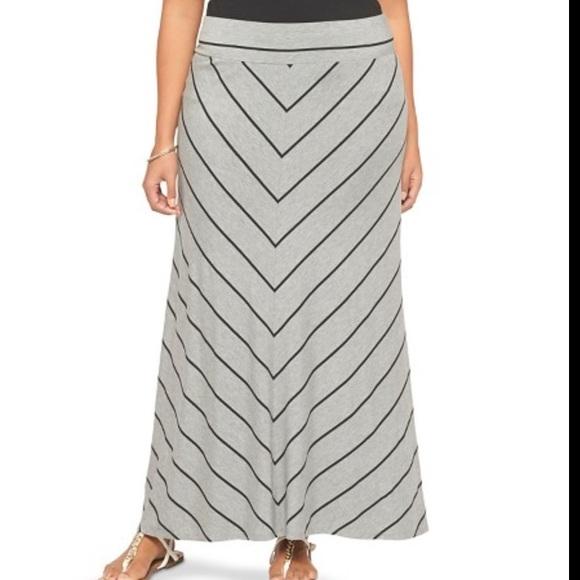 b14c61b6fb6 REDUCED Plus size maxi skirt 4X
