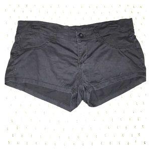 RVCA all black shorts