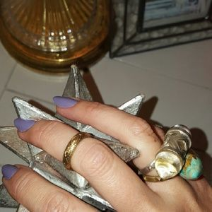 Authentic Pamela Love Anja Evil Eye Ring