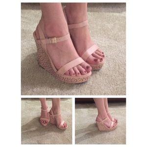 4948a371cb6e Diba Shoes - Dusty Rose Platform Heels