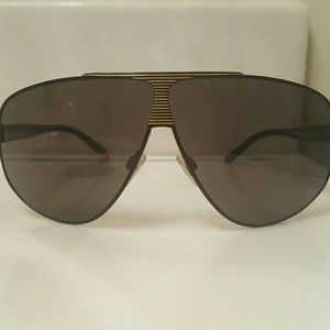 Black gold Roberto Cavalli aviator sunglasses