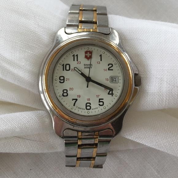 swiss army vintage 1990s menu0027s watch