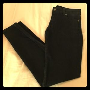 Black Vintage Washed MICHAEL KORS skinny jeans!