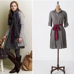 Anthropologie Refined Rugby Shirtdress
