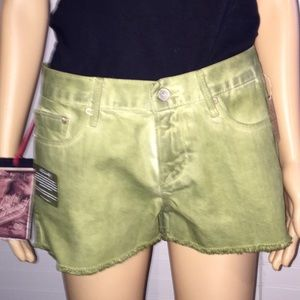 Cult of individuality Pants - NWT cult of individuality cutoffs