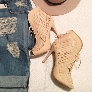 NEW Fringe booties