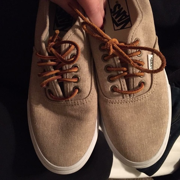 vans leather shoe laces