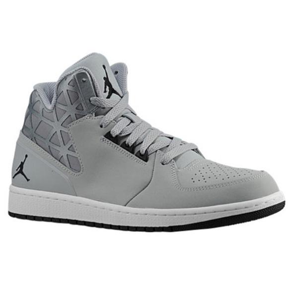 huge discount 94772 f1317 Jordan 1 flight 3 wolf-grey/ black/ white